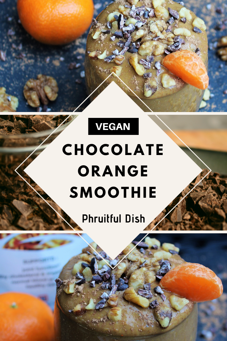 Brain-Boosting Chocolate Orange Smoothie